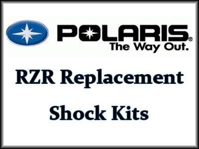 King Shocks U.T.V. Performance Shock Kits - Polaris