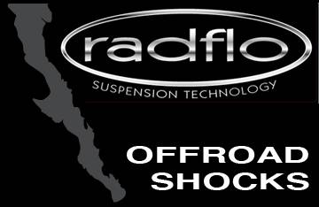 Off Road Shocks All Brands - Radflo Suspension Technology