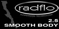 Radflo Suspension Technology  - Radflo 2.5 Smooth Body Shocks