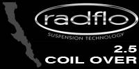 Radflo Suspension Technology  - Radflo 2.5 Coil Over Shocks