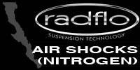 Radflo Suspension Technology  - Radflo Air (Nitrogen) Shocks
