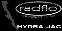 Radflo Suspension Technology  - Radflo Hydra-Jac