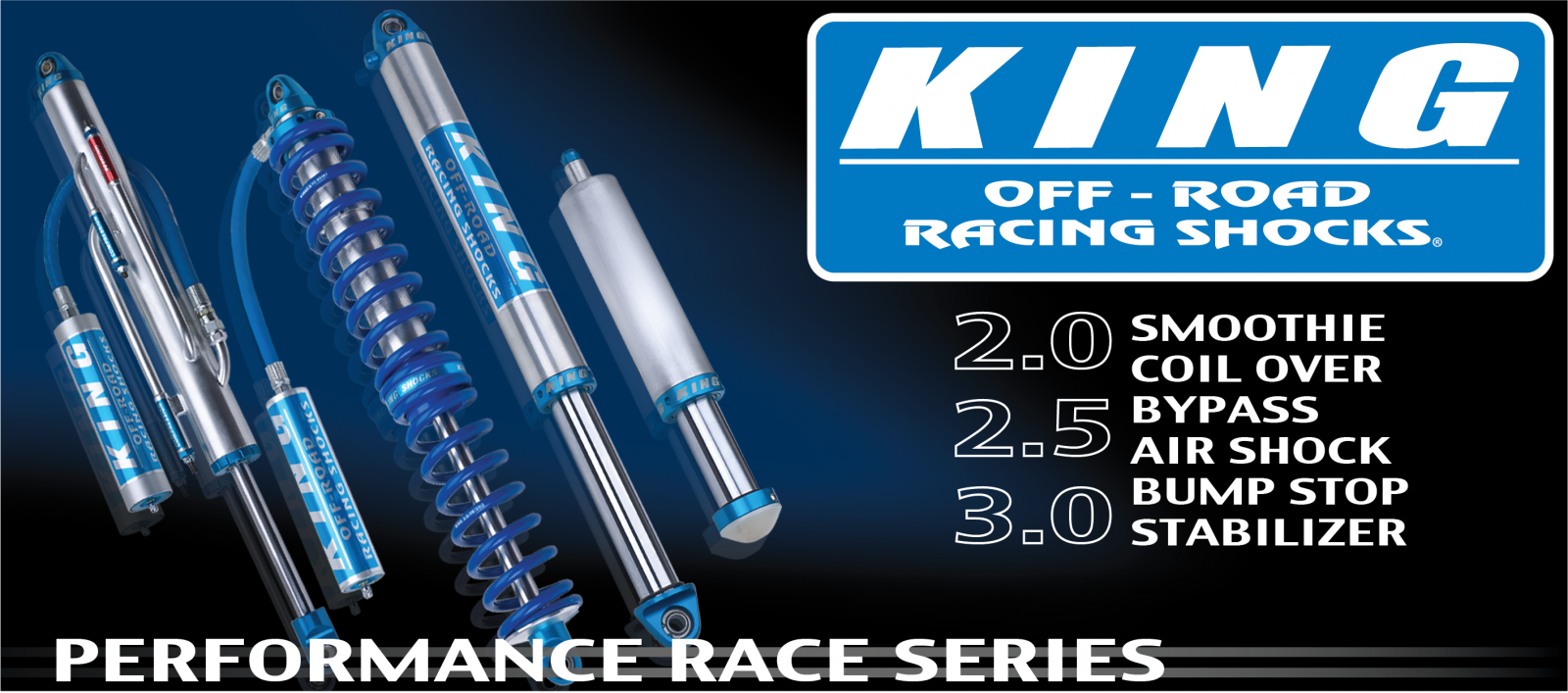 King Performance Series Shocks