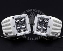 "Rigid Industries - Rigid Industries M-Series Dually White ""Flood"" Set Of Two"