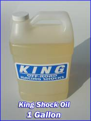 "King Shocks - King Shock Oil ""1"" Gallon"