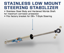 Carli Suspension  - Carli Suspension Dodge Low Mount Steering  Stabilizer