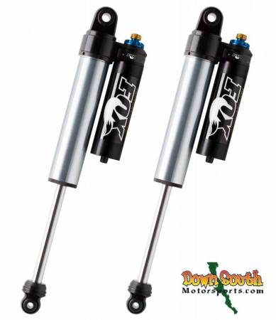 """FOX Racing Shocks - Fox Racing Shox: Nissan Titan 4wd 2.5 Factory Series Rear Smooth Body Shock with DSC for 0"""" to 1"""" Lift"""