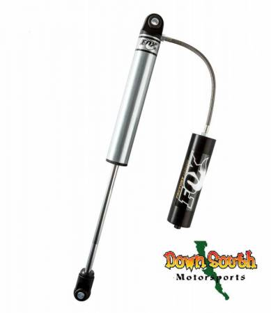 FOX Racing Shocks - Fox Racing Shox: 2.0 Factory Series Smooth Body Remote Reservoir Eyelet Bushing Shock in 11 inch Travel