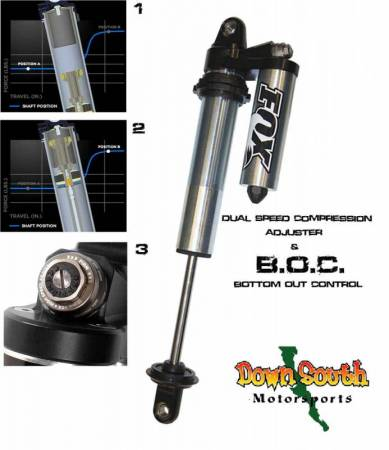 FOX Racing Shocks - Fox Racing Shox: 2.0 Factory Series Coil-Over Shock Piggyback Reservoir in 10 inch Travel with DSC/BOC 983-06-004