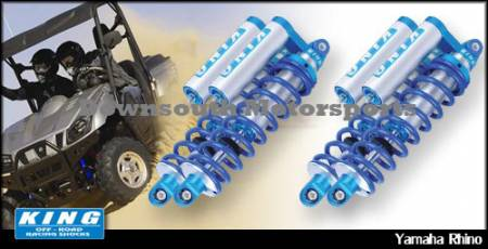 King Shocks - Yamaha Rhino '04-Up Replacement King UTV Performance Series Shock kit