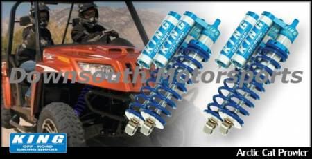 King Shocks - Artic Cat XTZ 1000 King UTV Performance Series Shock kit
