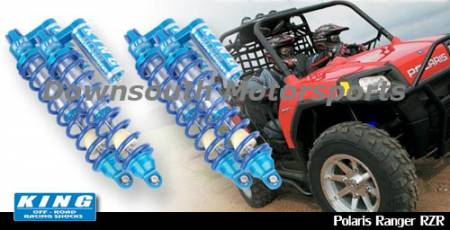 King Shocks - Polaris RZR-S '08-Up King UTV Performance Shock kit