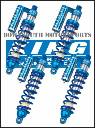 King Shocks - Can Am Commander King UTV Performance Shock kit with compression adjuster