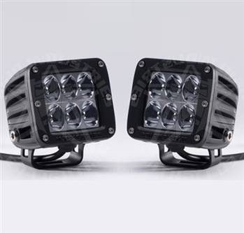 """Rigid Industries - Rigid Industries Dually D2 White """"Wide"""" Set Of Two"""