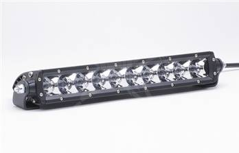 "Rigid Industries - Rigid Industries 10"" SR-Series Hybrid LED Light Bar, Amber ""Flood & Spot"" Combo"