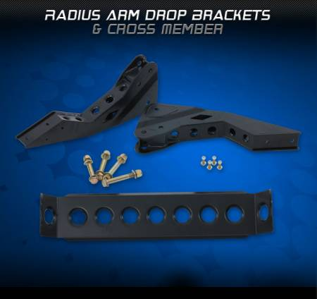 Carli Suspension  - Carli Suspension Radius Arm Drop Brackets