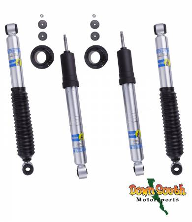 Bilstein Shocks - Bilstein 5100 Series Front and Rear Shocks for 1996-2004 Toyota Tacoma 2wd Pre-Runner & 4wd (Pair) 24-249928/33-247724/33-247717