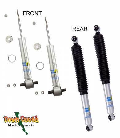 Bilstein Shocks - Bilstein 5100 Series Front & Rear Shock Package for 2015-2018 GMC Yukon 1500 24-251976/24-251778