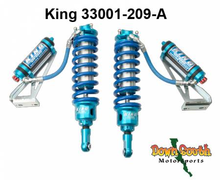 King Shocks Front 3.0 Coil-Over Stage 3 Race OEM Kit for Toyota Tacoma 2wd Pre-Runner/4wd with Compression Adjuster & IBP 33001-209-A