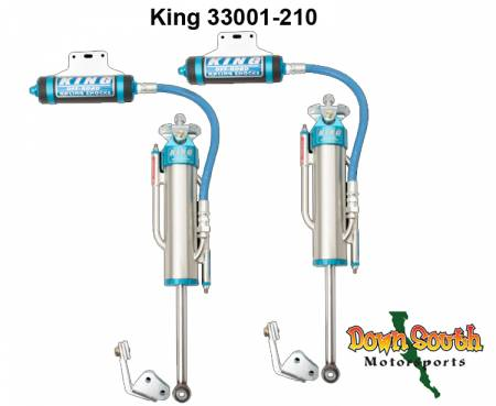 King Shocks OEM Rear Stage 3 Race Kit 3.0 Dia. 2-Tube Remote Reservoir Bypass for Toyota Tacoma 2wd Pre-Runner/4wd 33001-210