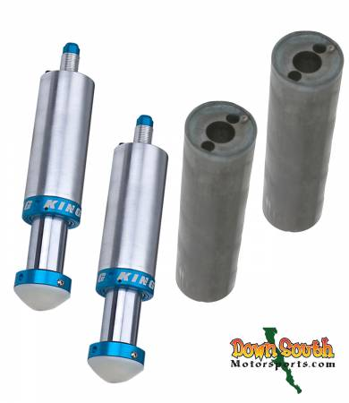 "King Shocks 2.5  x  2.5"" Bump Stop Package Deal with Free King Mounting Cans BS2525/BS2526"