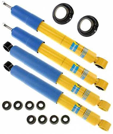 Bilstein Shocks - Bilstein 4600 Series Front and Rear Shocks for 1995.5-2004 Toyota Tacoma 2wd Pre-Runner & 4wd (Pair) 24-022842/24-184960/24-184977