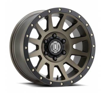 "ICON Vehicle Dynamics 17"" COMPRESSION Wheel, Bronze Finish"
