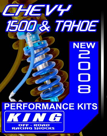 King Performance Kit for 2007 & Up Chevy / GM 1500 Pick up 4wd & 2wd