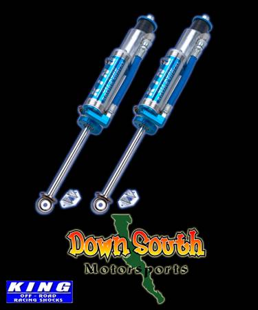 King Performance Series Front Shocks with Compression Adjusters for 2007-Current Jeep Wrangler JK