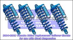 King Shocks - Yamaha Rhino '04-Up Replacement King UTV Performance Series Shock kit - Image 2