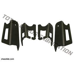 Total Chaos Fabrication - Total Chaos Tacoma / FJ / 4 Runner Coil Bucket Tower Gussets - Image 1