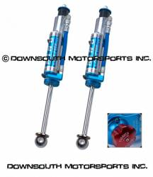 "King Shocks - King Performance Series Rear Shock Kit with compression adjuster for '89 -'97 Toyota Land Cruiser 80 Series (INTL) 0-2"" Lift - Image 1"