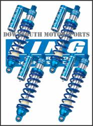 King Shocks - Can Am Commander King UTV Performance Shock kit with compression adjuster - Image 1