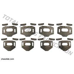 Total Chaos Fabrication - Total Chaos Tacoma / FJ / 4 Runner Lower Control Arm Cam Tab Gussets - Image 1