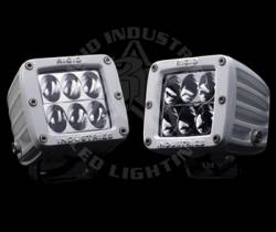 "Rigid Industries - Rigid Industries M-Series Dually D2 White ""Wide"" Set Of Two - Image 1"