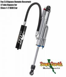 "FOX Racing Shocks - Fox Racing Shox 2.0 Factory Series 4 Tube Bypass Remote Reservoir Shock in 10"" Travel 980-02-996 - Image 1"