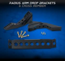 Carli Suspension  - Carli Suspension Radius Arm Drop Brackets - Image 1