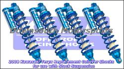 King Shocks - Copy of Kawasaki Teryx  '08-Up King UTV Performance Shock kit with compression adjuster - Image 1
